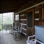 cabin #1 - porch view 4