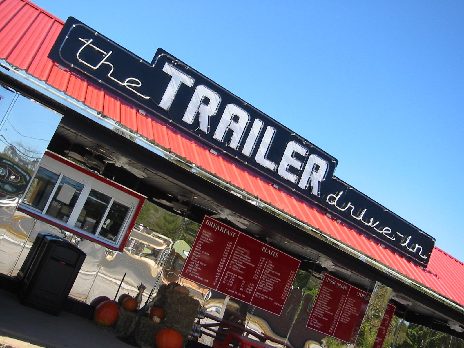 trailer drive in